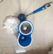 Deluxe Powerful Pedal Mop with 2 Big Wheels Move Easy