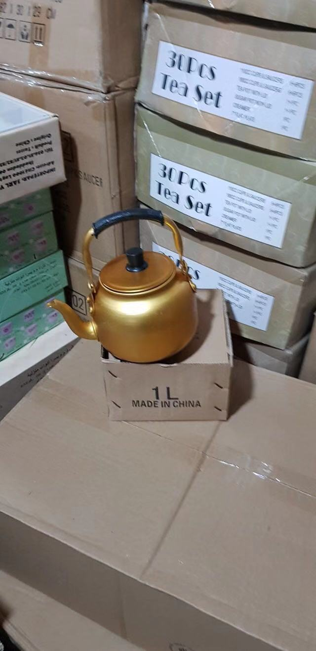 2.0L aluminum yellow kettle to middeast